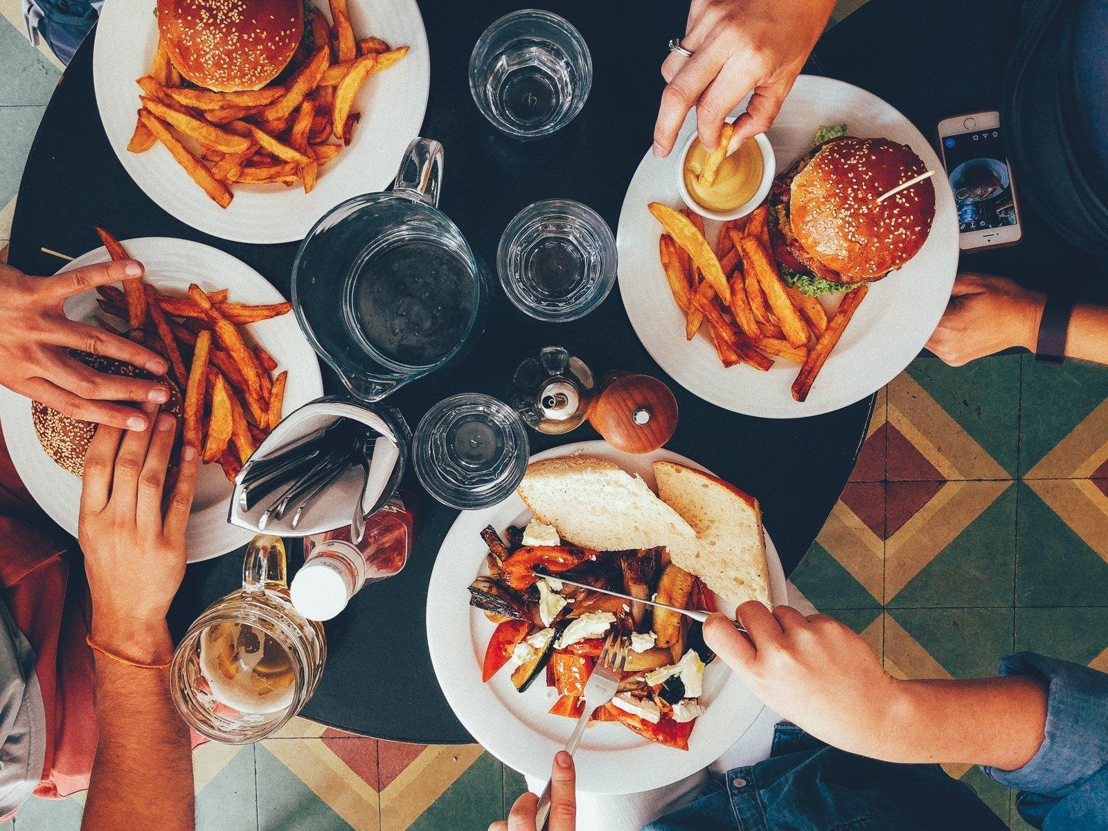 Gesundes Fast Food