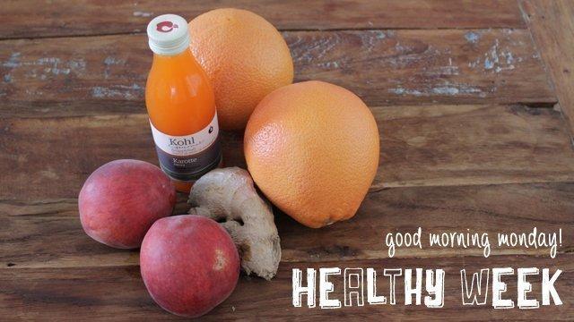 Start in die healthy week mit grapefruit peach karotten - Lustlos englisch ...
